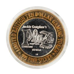 .999 Silver Plaza Las Vegas, NV $10 Casino Limited Edition Gaming Token