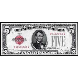 1928 $5 Legal Tender Note