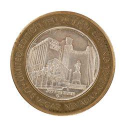 .999 Fine Silver Las Vegas Club Las Vegas, NV $10 Limited Edition Gaming Token