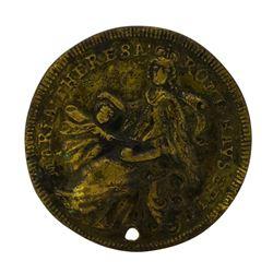 1745 Germany War of Austrian Succession Maria Theresa Francis I Medal