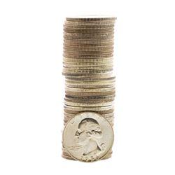 Roll of (40) Brilliant Uncirculated 1956-P Washington Quarter Coins