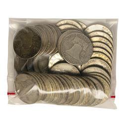 Bag of (50) Silver Franklin Half Dollar Coins - $25 Face Value