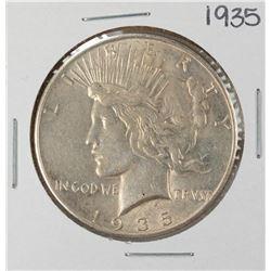 1935 $1 Peace Silver Dollar Coin