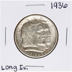1936 Long Island Commemorative Half Dollar Coin