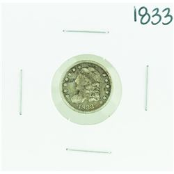 1833 Capped Bust Half Dime Coin