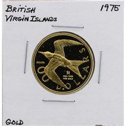 1975 $100 British Virgin Islands Gold Coin