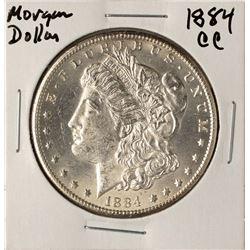 1884-CC $1 Morgan Silver Dollar Coin