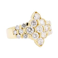 18KT Yellow Gold 2.03 ctw Diamond Ring