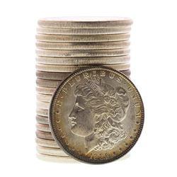 Roll of (20) Brilliant Uncirculated 1886 $1 Morgan Silver Dollar Coins