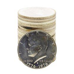 Roll of (20) Brilliant Uncirculated 1976-S Bicentennial 40% Silver Half Dollar Coins