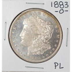 1883-O PL $1 Morgan Silver Dollar Coin