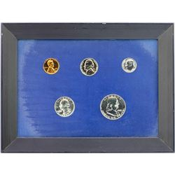 1961 (5) Coin Proof Set in Frame