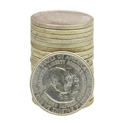 Roll of (20) Brilliant Uncirculated 1952 Washington Carver Half Dollar Coins