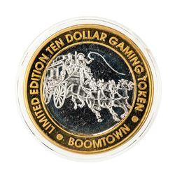 .999 Fine Silver Boomtown Verdi, Nevada $10 Limited Edition Gaming Token