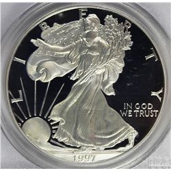 1997-P AMERICAN SILVER EAGLE