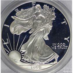 1998-P AMERICAN SILVER EAGLE