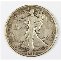 1918 WALKING LIBERTY HALF DOLLAR