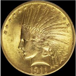 1911 $10.00 GOLD INDIAN