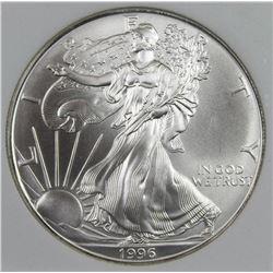 1996 AMERICAN SILVER EAGLE