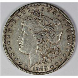 1878 7F MORGAN SILVER DOLLAR