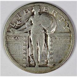 1923-S STANDING LIBERTY QUARTER