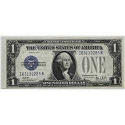 "1928-B $1.00 SILVER CERTIFICATE ""FUNNYBACK"""