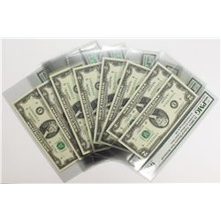 10 PICES 2003 A $2.00 FEDERAL RESERVE NOTES