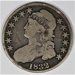 1832 BUST HALF DOLLAR