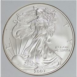 2007-W AMERICAN SILVER EAGLE