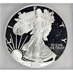 2003-W AMERICAN SILVER EAGLE