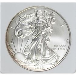 2013-W BURNISHED AMERICAN SILVER EAGLE