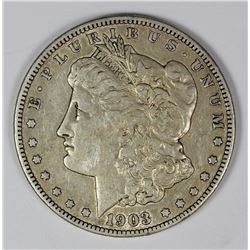 1903-S MORGAN SILVER DOLLAR