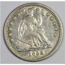 1858-O HALF DIME