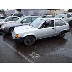 1985 Toyota Tercel
