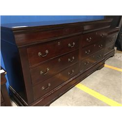 "68"" CHERRY WOOD COLOUR DRESSER (SOME SCUFFS PRESENT)"