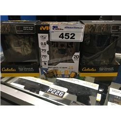 3 OUTDOOR GAME CAMERAS - IN BOXES