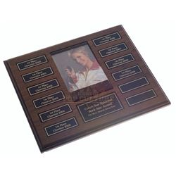 """Glee (TV) – Sue Sylvester's """"Rock Star"""" Award Plaque – VI772"""