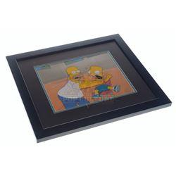 Simpsons, The (TV) – Original Homer & Bart Simpson Animation Cel – VI824