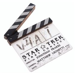 Star Trek: First Contact – Production Used Clapper Board – VI916