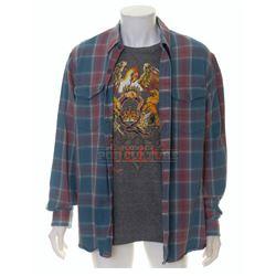 That's My Boy – Donny's T-Shirt & Flannel Shirt (Adam Sandler) – VI716