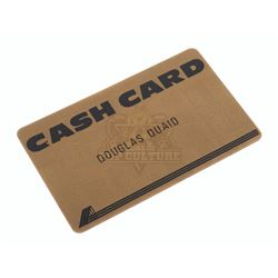 Total Recall – Douglas Quaid's (Arnold Schwarzenegger) Cash Card – VI702