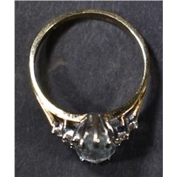 14kt GOLD LADIES RING SIZE 6-1/4 2.6g