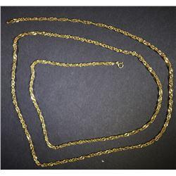 34 INCH 14kt GOLD CHAIN 4.9g