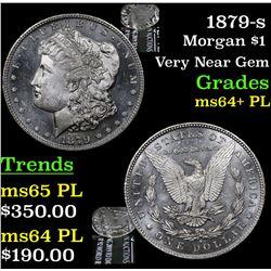 1879-s Morgan Dollar $1 Grades Choice Unc+ PL