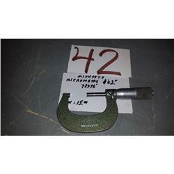 "Mitutoyo Micrometer  1""-2"""