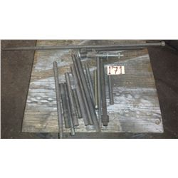 Lot of assorted filleted Rod