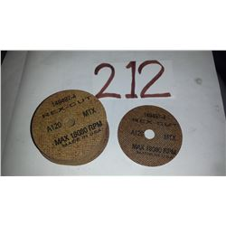 """Cutting Disc 3""""x 1/16"""" x 1/2"""""""