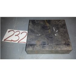 """Steel Bloc D-2 6""""1/8 x 5""""3/4 x 1""""1/2"""