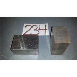 """Steel Bloc D-2 3""""1/4 x 2""""1/4 x 1""""3/4"""