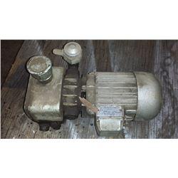 Gebr. Becker Wuppertal Electric Motor Pump